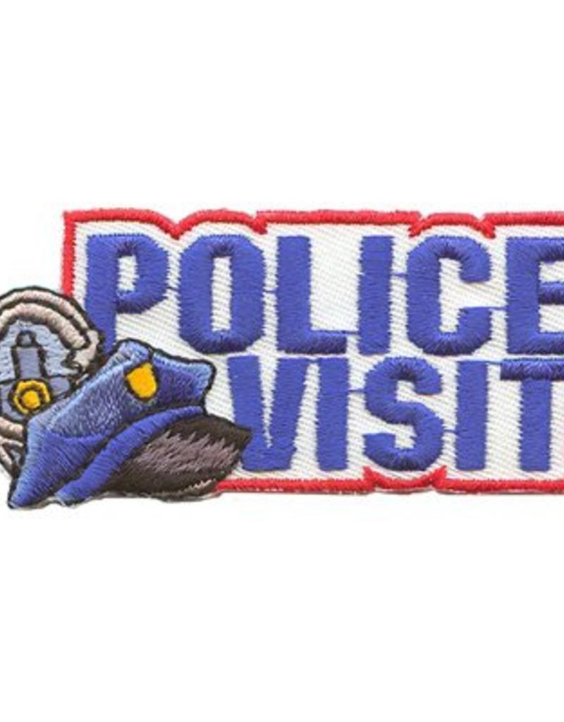 Advantage Emblem & Screen Prnt Police Visit Fun Patch