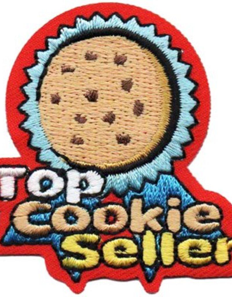 Advantage Emblem & Screen Prnt Top Cookie Seller Rosette Fun Patch