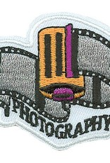 Advantage Emblem & Screen Prnt Photography Roll of Film Fun Patch