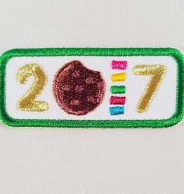 LITTLE BROWNIE BAKER 2017 Year Bar Patch
