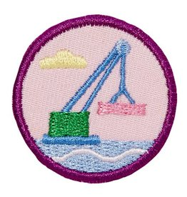 GIRL SCOUTS OF THE USA Junior Crane Design Challenge Badge