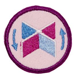 GIRL SCOUTS OF THE USA Junior Paddleboat Design Challenge Badge