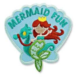 Mermaid Fun w/ Seahorse Fun Patch