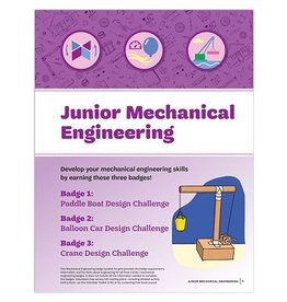 GIRL SCOUTS OF THE USA Junior Mechanical Engineering Badge Requirements