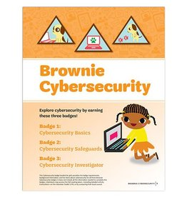 GIRL SCOUTS OF THE USA Brownie Cybersecurity Badge Requirements