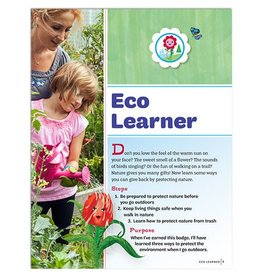 GIRL SCOUTS OF THE USA Daisy Eco Learner Badge Requirements
