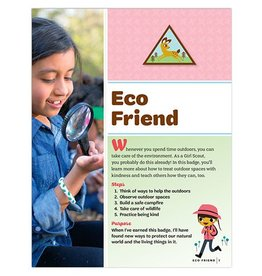 GIRL SCOUTS OF THE USA Brownie Eco Friend Badge Requirements