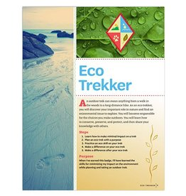 GIRL SCOUTS OF THE USA Cadette Eco Trekker Badge Requirements