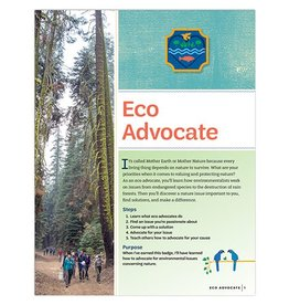 GIRL SCOUTS OF THE USA Ambassador Eco Advocate Badge Requirements