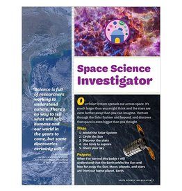 GIRL SCOUTS OF THE USA Junior Space Science Investigator Badge Requirements