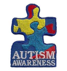 Advantage Emblem & Screen Prnt Autism Awareness Puzzle Piece Fun Patch