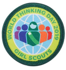 GIRL SCOUTS OF THE USA 2019 World Thinking Day Award Patch