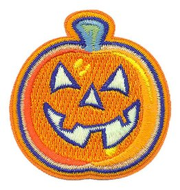 Advantage Emblem & Screen Prnt Glow in the Dark Jack-O-Lantern Pumpkin Fun Patch