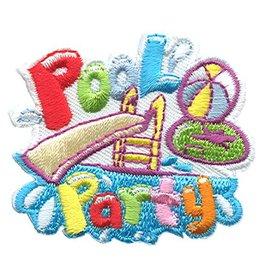 Advantage Emblem & Screen Prnt Pool Party Slide & Ball Fun Patch