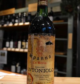 Vintage Antoniolo Spanna Ca' Rossa 1967 (torn/stained labels)