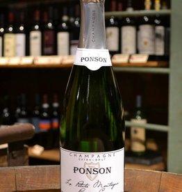 Ponson Champagne Extra Brut La Petite Montagne Premier Cru NV