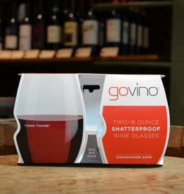 Govino dishwasher safe 16 ounce wine glasses 2 pack