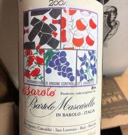 Bartolo Mascarello Barolo Painted Label 2001