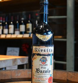Vintage Ercole Rivetto Barolo Riserva Speciale 1964