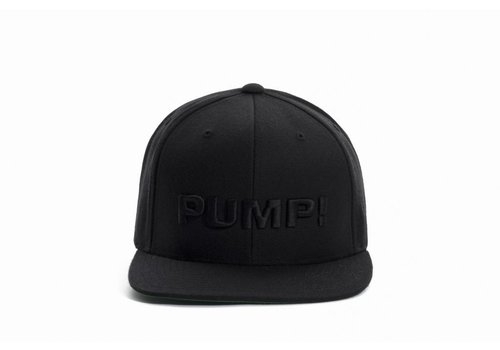 PUMP! All Black Snapback