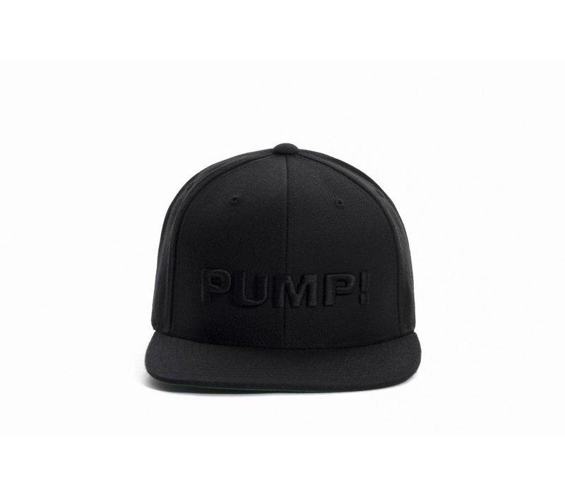 All Black Snapback