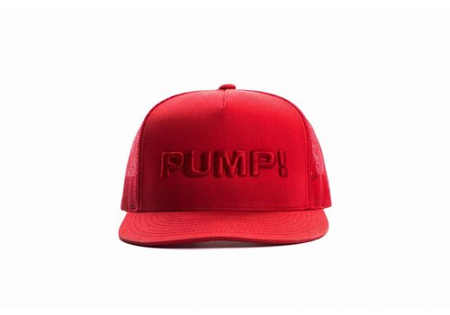 PUMP! All Red Ball Cap