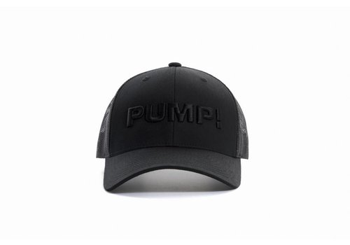 PUMP! All Black Ball Cap