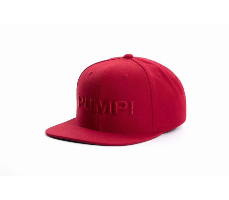 All Red Snapback
