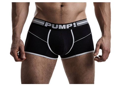 PUMP! Black Free-fit Boxer
