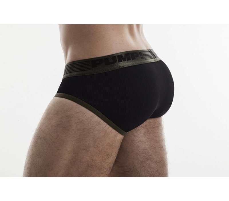 Military Ribbed Brief