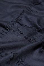 Cashmere Silk Scarf, Navy