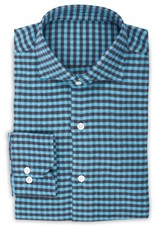 Cashmere Feel Flannel Gingham Shirt