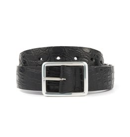 Reversible Crocodile Belt