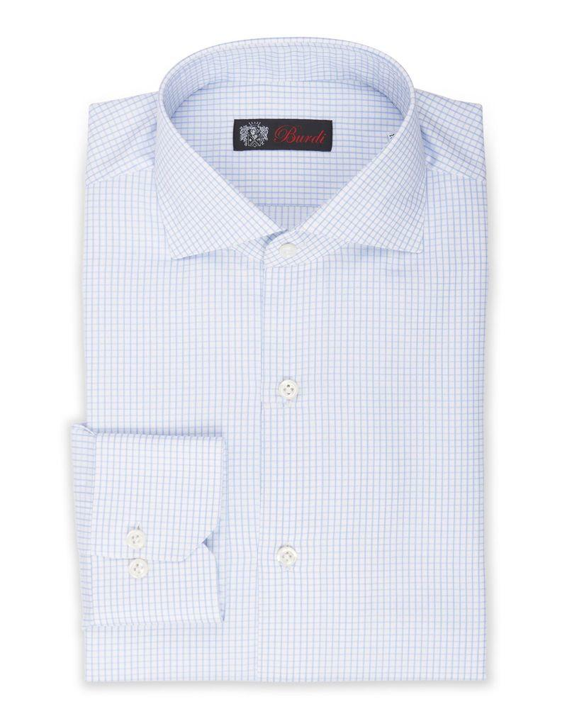 Handmade Dress Shirt, Woven Check