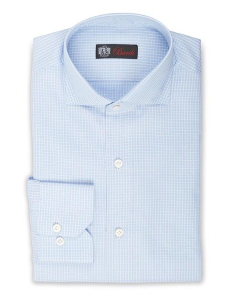 Handmade Dress Shirt, Woven Check