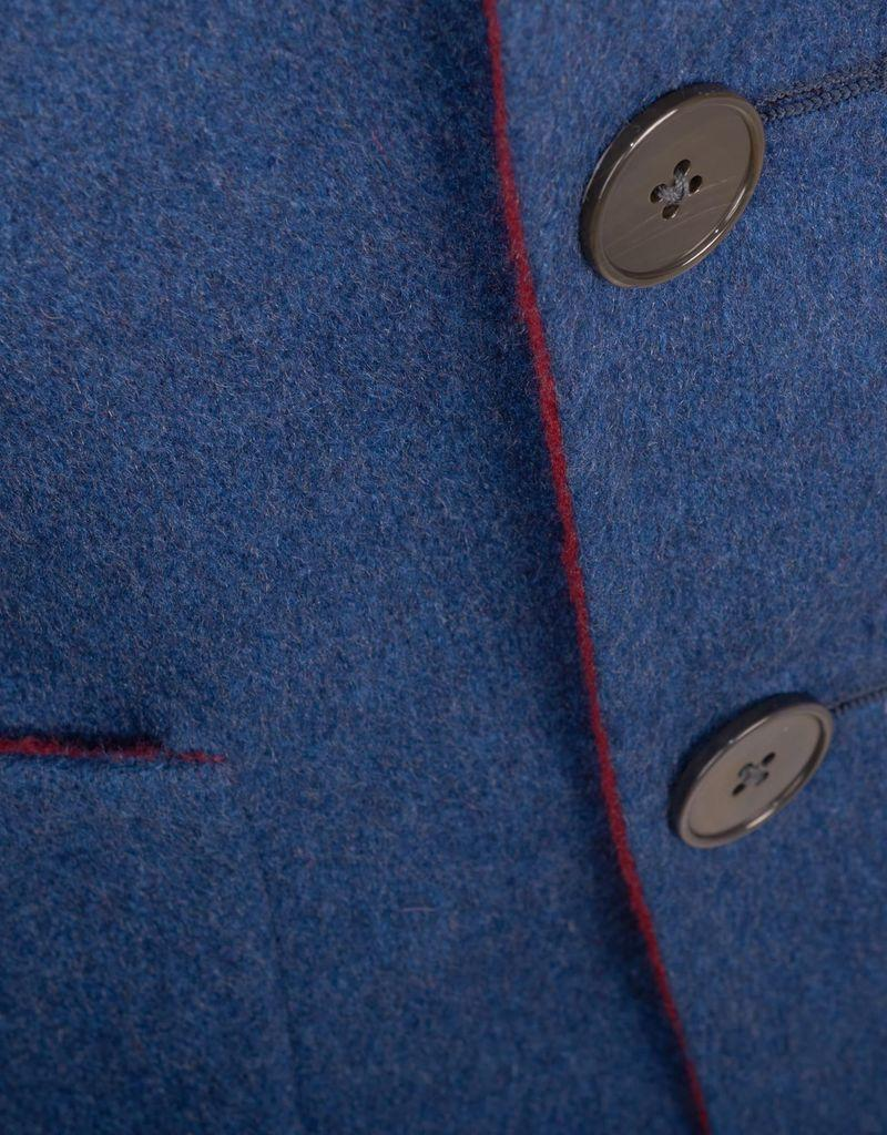 Double-Sided Reversible Overcoat