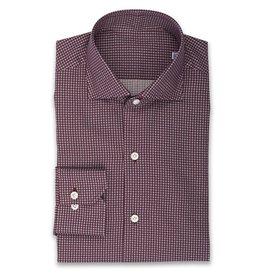 Small Geo Dot Shirt, Wine
