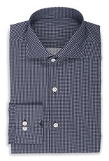 Small Geo Dot Shirt, Navy