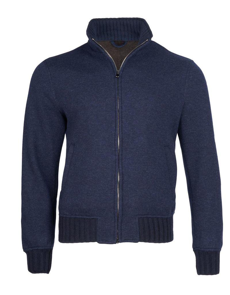 Cashmere Bomber Jacket