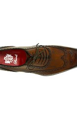 Hand-made Brown Oxford shoes