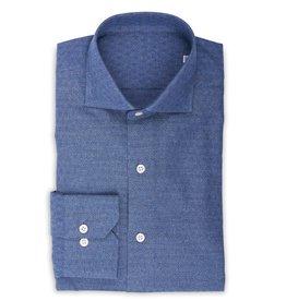 Chambray Shirt, woven diamond