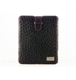 iPad™ Cover in Blue Ostrich