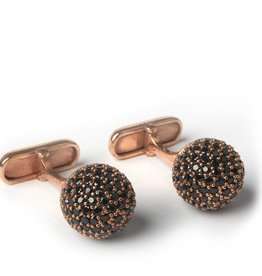 Gem Encrusted Dome Cufflinks