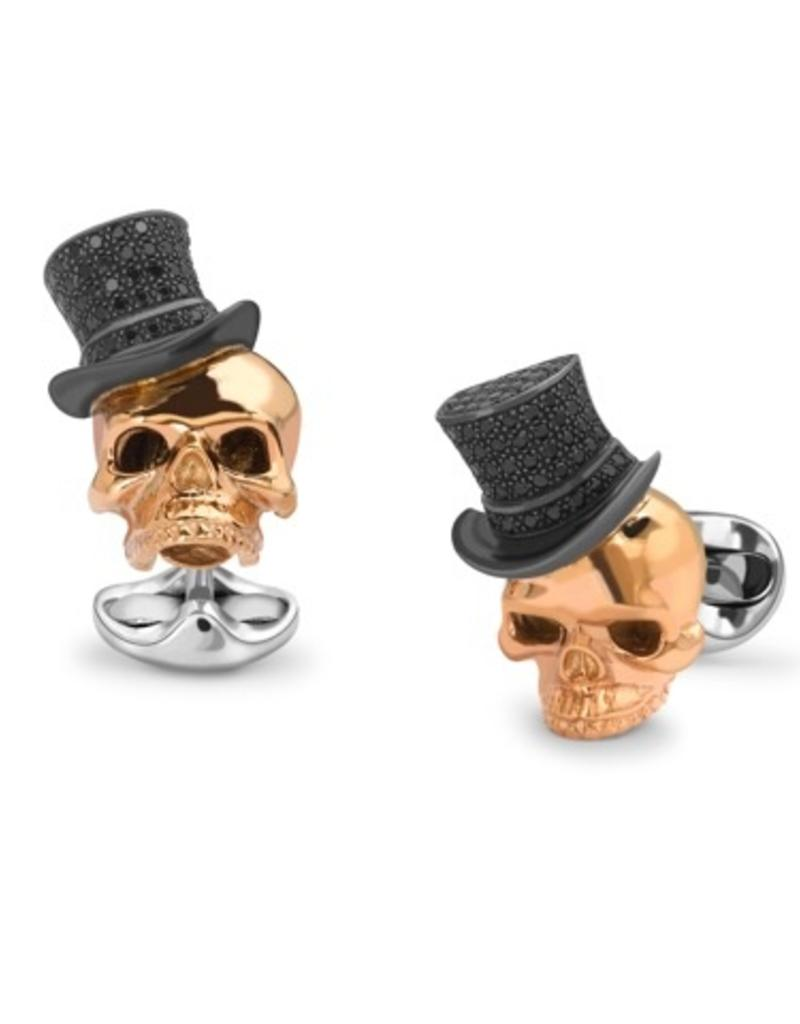 Top hat Skull Cufflinks