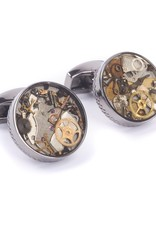Gunmetal Watch gears Cufflinks