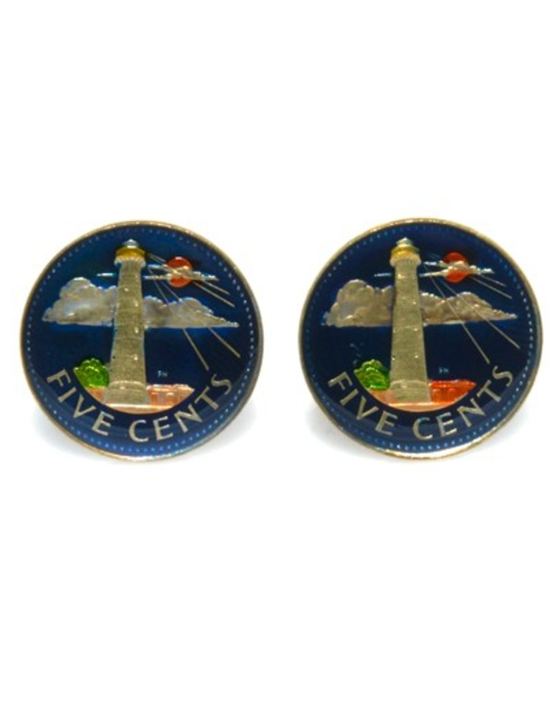 Coin Cufflinks - Barbados
