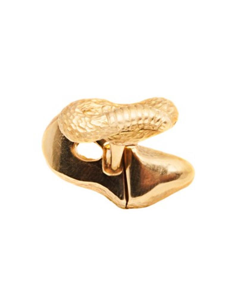 Yellow Gold Snake Cufflinks
