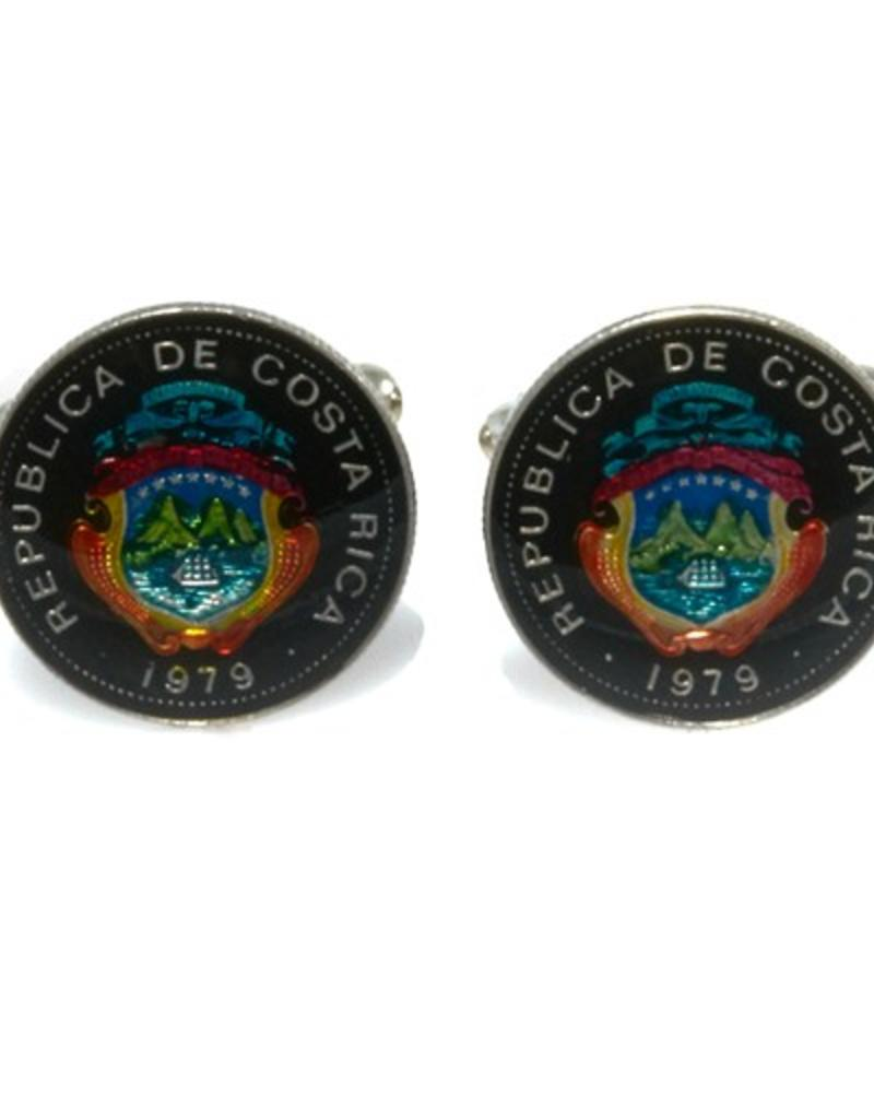 Coin Cufflinks - CostaRica