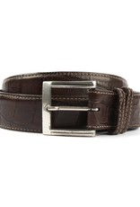 Brown Alligator Belt
