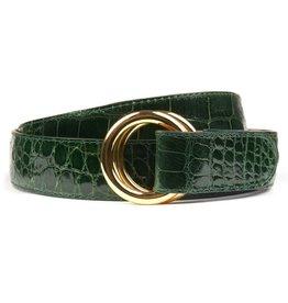Green Alligator Belt